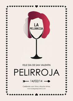 Feliz día de San Valentín... Pelirroja Movie Posters, Wine Cellars, Happy Valentines Day, Redheads, Film Poster, Popcorn Posters, Billboard, Film Posters