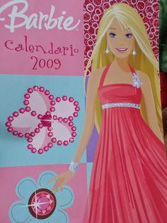 pinkylily: Barbie Calendario 2009 Italiano