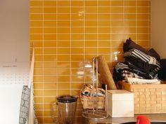 2×4 mango Heath Ceramics Tile, Backsplash, Kitchen Dining, Tiles, Architecture, Mango, Design, Home Decor, Room Tiles