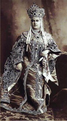 Grand Duchess Vladimir at the Romanov Imperial Ball - 1903