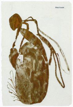 Joseph Beuys - Queen Bee (for bronze sculpture), 1958