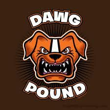 "Cleveland Browns ""dog pound"""