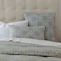 Pretty bedding, love you West Elm.