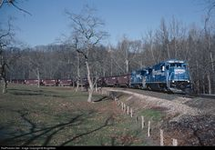 CONRAIL QUALITY RAILWAY - 2035 - GE B23-7S at Cracker Jack, Pennsylvania by BurghMan