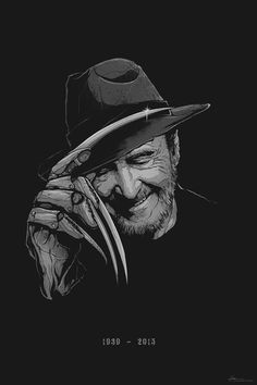 Marvelous Mag - Wes Craven/ We Got Next (Prod. by Giallo Point)Marvelous Mag - Wes Craven/ We Got Next (Prod. by Giallo Point) Horror Icons, Horror Films, Horror Art, Freddy Krueger, Robert Englund, Horror Pictures, Spooky Scary, Fan Art, Jason Voorhees