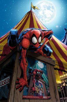 Spider-Man 25 - Cover Variant by penichet.deviantart.com on @DeviantArt