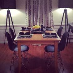My Dining Room - The Silver Lining Life - blog