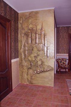 Замок - Скульптура и лепка - Лепные панно и барельефы