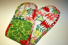 The Boy Trifecta: Double Potholder Tutorial