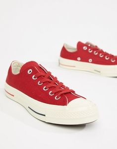 d97ba882f32 Converse Chuck Taylor All Star  70 Low Sneakers In Red Red Chucks