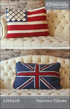 Patriotic Pillows ePattern PDF | Sewing Pattern | Craft Pattern | YouCanMakeThis.com