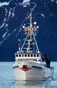 """""""Northwestern"""", crab fishing boat, Dutch Harbor, Alaska"""