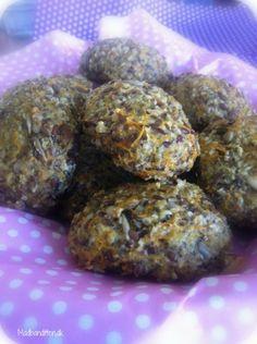 Sunde gulerodsboller til madpakken m. chia frø