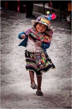 Beautiful little mexican girl