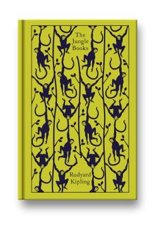 The Jungle Book by Rudyard Kipling. Penguin's Clothbound Classics with cover design by Coralie Bickford-Smith. The Jungle Book, Penguin Clothbound Classics, Penguin Classics, Book Cover Design, Book Design, Der Panther, Black Panther, Illustrator, Illustration Art Nouveau