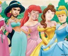 If 1D were disney princesses