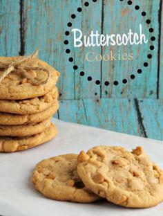 Butterscotch Cookies with butterscotch pudding & butterscotch chips.
