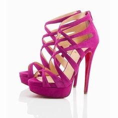 Christian Louboutin Balota 150mm Purple Evening Sandals 26732