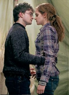 shall we dance? This was one of the most beautiful cinematic moments for me. Not because I'm a HP fan or a H/H shipper. Because it shows you a glimpse into the raw, wonderful powers of true friendship that soar above everything else in the world that could crush your soul. I really don't think anything depicts that so clearly