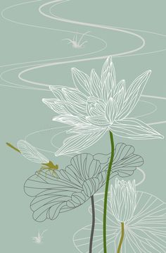 Photo about Dragonfly on a lotus leaf with blossom lotus flower. Illustration of floral, plant, lotus - 25480734 Photo about Dragonfly on a lotus leaf with blossom lotus flower. Illustration of floral, plant, lotus - 25480734 Lotus Kunst, Lotus Art, Leaf Drawing, Plant Drawing, Lotus Drawing, Lotus Flower Drawings, Flower Vector Art, Lotus Flower Tattoo Design, Drawing Flowers