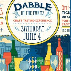 Dabble in the Farms coming June 4th in #grossepointe #craftbeer #food #music #dabbleinthefarms