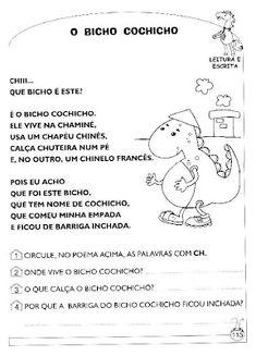 Tudo bem simples: Atividades CH - NH - LH
