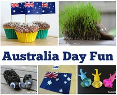 It's Australia Day on the January here in Oz and it's always nice to get the children involved in some fun crafts that mean something to us even if only in small ways. I don't often do 'themes. Australia For Kids, Australia Crafts, Gifts Australia, Cairns Australia, Toddler Crafts, Preschool Crafts, Fun Crafts, Crafts For Kids, Preschool Learning