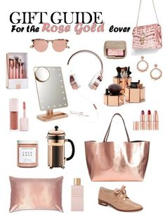 Gift Guide: For The Rose Gold Obsessed Girl in your life The holidays are fast approaching and picking out gifts can be quiet a task. Here is a guide for the rose gold obsessed girl in your life! Tween Girl Gifts, Gifts For Girls, Gifts For Mom, Christmas Gift Guide, Christmas Gifts, Holiday Gifts, Rose Gold Gifts, Rose Gift, Birthday Gifts For Teens