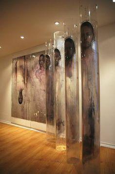Modern Art, Contemporary Art, Arte Horror, Exhibition Poster, Installation Art, Art Installations, Art Plastique, Face Art, Medium Art