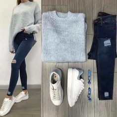 Pin by bora.skr on things to wear in 2019 женская одежда, мо Cute Casual Outfits, Simple Outfits, Chic Outfits, Winter Fashion Outfits, Fall Outfits, Mode Ootd, Mode Outfits, College Outfits, Mode Inspiration