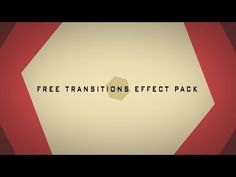 Download Free Transitions Effects pack for After Effects here:  http://www.editingcorp.com/free-transitions-effect-after-effects/ The file was free for a limi...
