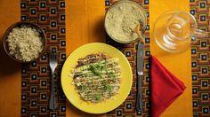 De inspiração japonesa, massa feita por Bela Gil leva trigo sarraceno e toque de maionese picante no topo