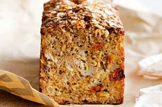 Banana Coconut and Goji Berry Bread Recipe