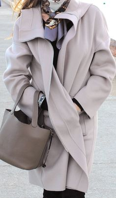 Hermes. Love this coat!