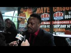 Derek Chisora Interview and Face Off with David Haye