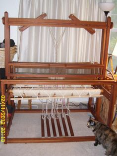 "4 harness, Jack floor weaving loom 45"" near Seattle"