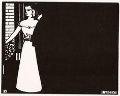 Felix Vallotton - LArgent (Money) - Woodcut - 1898