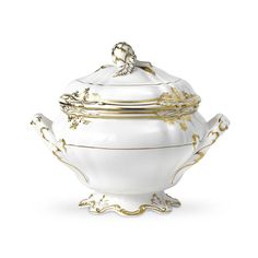 Sale: Stafford - White Covered Soup Tureen from Spode in Oxford, MS from Oxford Floral Co.