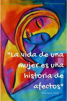 Mujer esforzada... sonríe al porvenir sin temor de la mano de Dios.
