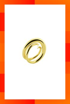 10 Of The Best Gold Rings To Buy Now #refinery29  http://www.refinery29.uk/gold-rings-affordable-buy-now#slide-7  One for the discerning design enthusiast, Charlotte Chesnais worked with Nicolas Ghesquière for more than ten years at Balenciaga, before launching her eponymous accessories line. Invest now. Unchained ring, £420 at <a…
