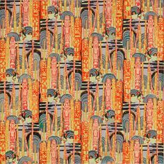 Lois Mailou Jones was a textile designer very early in her career. She wanted to be well-known so she moved on to other things, lol! Smart move.