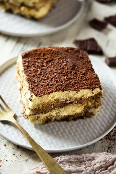 Easy Tiramisu. This Tiramisu is the best ever recipe I've tried. Made with all the classic flavors, no heavy cream but instead with mascarpone cheese. This glorious authentic Italian dessert is a sure crowd pleaser and will never let you down! Insidetherustickitchen.com #Tiramisu #Italiandesserts #Easytiramisu #dessertrecipes #Italianfood via @InsideTRK