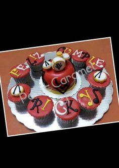 Minipastel y Cupcakes Bateria