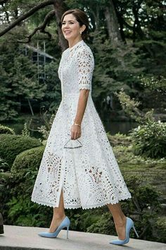 38 Popular Lace Dress Ideas Surely You Want To Wear It - There are numerous plans of dresses that will consistently be in style consistently. Lace semi-formal dresses are perhaps the most established style f. Lace Outfit, Boho Dress, Dress Skirt, Lace Dress, Dress Up, Eyelet Dress, Lace Skirt, Trendy Dresses, Elegant Dresses