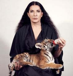 Marina Abramovic is a fantastic - albeit extreme - example of the Sagittarius woman personality. She's being doing things her way for decades. John Baldessari, Takashi Murakami, Pierre Auguste Renoir, Richard Burlet, Neo Rauch, Marina Abramovic, Baby Tigers, Sagittarius Women, Virgo