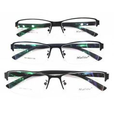 33a4c81033 Fashion Man New Pattern Glasses Frame Optics Eye Frame Metal Half Frame  Myopia Spectacle Frame Eye