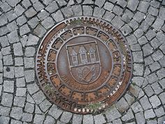 Prague MANHOLE COVERS