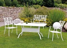 Inko Gartenmöbel Tisch Nexus Weiss 150x97 In Gruppe Nexus Weiß Es Gibt  Nicht Viele Weiße, Wirklich Wetterfeste Gartenmöbelgruppen.