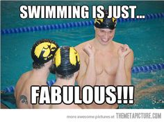 Swimming is the best…