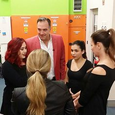 """Team huddle! We are SO excited to offer Chella Beauty products to our fans in Australia! See us live at 4:30 pm PST on TVSN. Chris and the Chella team can't wait for you to watch!  Click on the """"Watch"""" tab in the upper left corner to stream it live: http://ift.tt/2dewpmJ . . . . . . #tvsn #tvsnbeauty #chella #chellabeauty #wakeupandmakeup #crueltyfreecosmetics #chellabrows #browsonpoint #shopping #australia #newzealand #travellife"""